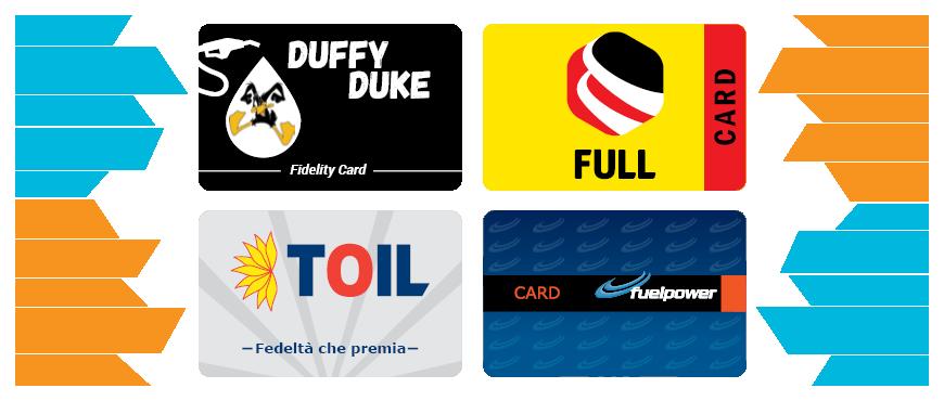 esempi Fidelity Card stazioni di servizio