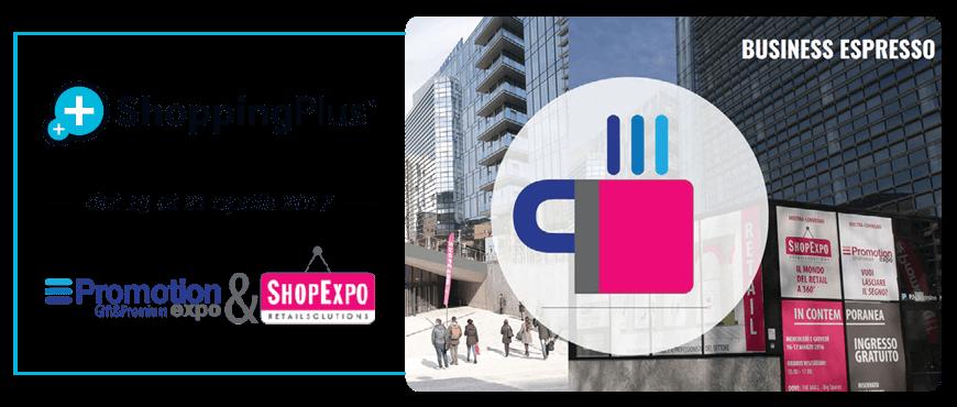 Shopping Plus al Promotion&Shop Expo