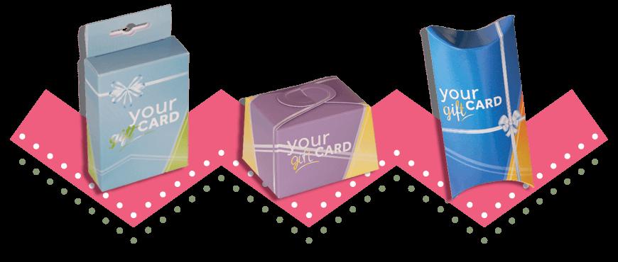 porta Gift Card astucci e bauletti