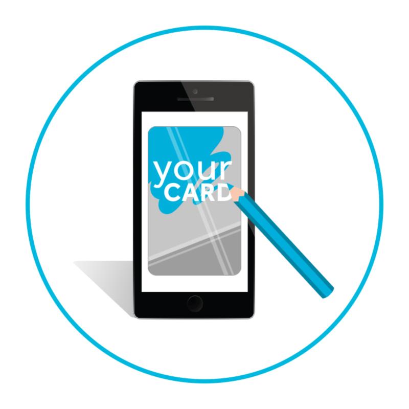 negozio smartapp facile grafica card virtuale