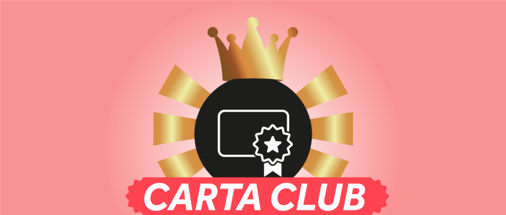 Carta club Software Fidelity Card