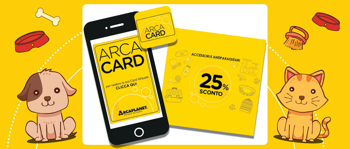 Myarcaplanet: card virtuale e coupon