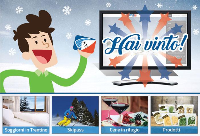"""instant win """"vinci la neve sull'alpe cimbra seconda edizione"""" premi in palio"""