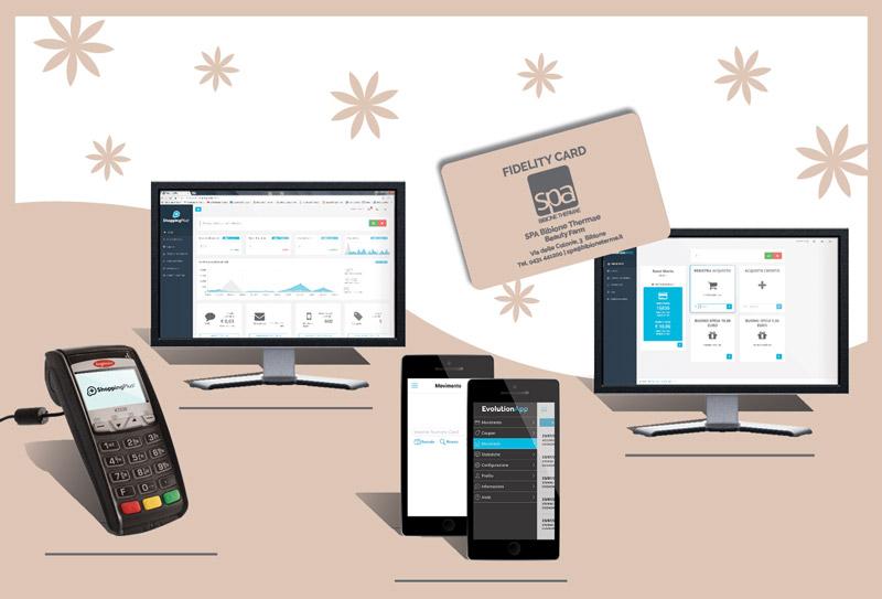 Composizione Software Fidelity Card Bibione Thermae