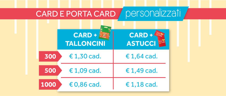 prezzi packaging gift personalizzati