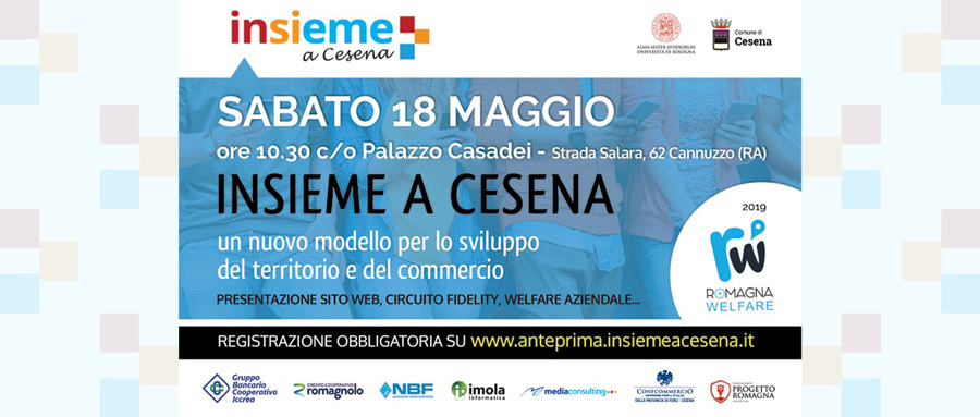 """""""Insieme a Cesena"""" per vivere e promuovere Cesena: portale, Cashback Card e tanto altro"""