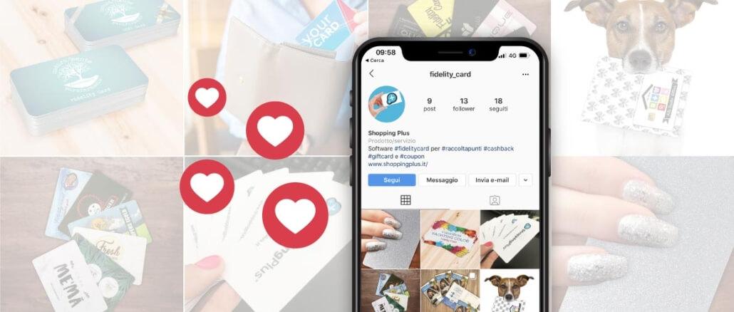 fidelity card su instagram