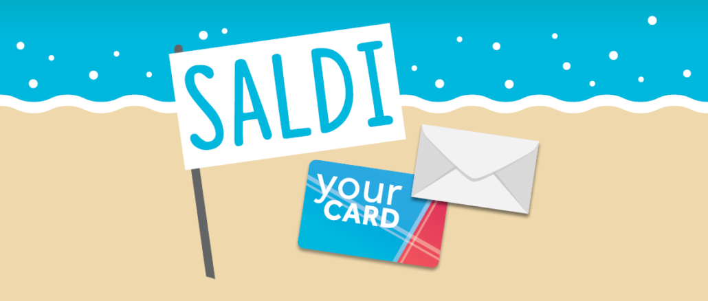 Iniziano i saldi: SMS per chi possiede la Fidelity Card