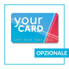Card con embossing - opzionale