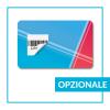 Card con etichetta stacca e attacca - opzionale
