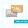 card glitter oro argento opzionale