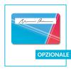 Card con con pannello firma - opzionale