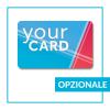 Card con vernice a rilievo - opzionale