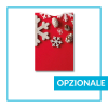 Porta Gift Card Astuccio sleeve Natale - opzionale