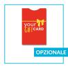 Porta Gift Card Astuccio sleeve personalizzato - opzionale