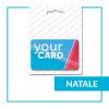 Porta Gift Card Talloncino appendibile Natale
