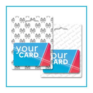 porta gift card talloncino appendibile natale e neutro