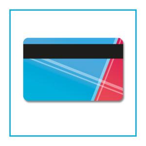 Card con banda magnetica - opzionale
