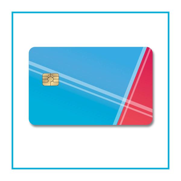 Card con microchip - opzionale