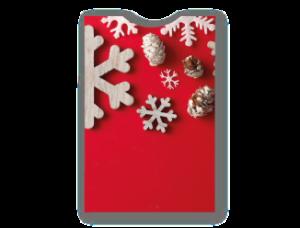 Astuccio porta Gift Card Natale