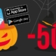 sconto halloween app white label