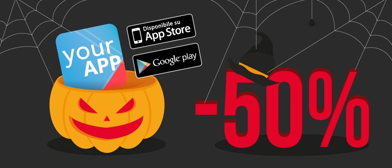 sconto halloween app white label