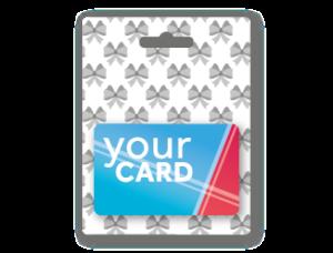 Talloncino porta Gift Card neutro