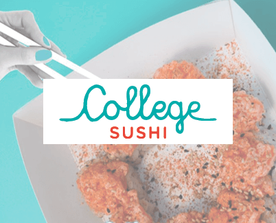 College Sushi. Fidelity Card come Gift Card