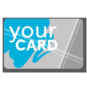 fidelity card in pvc con grafica personalizzata