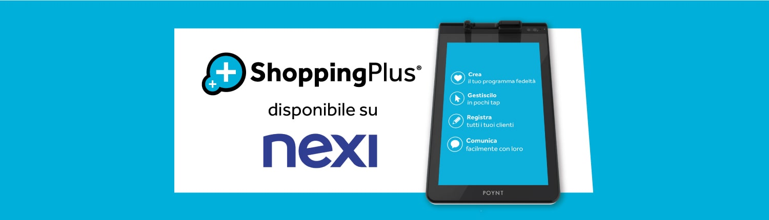 shopping plus disponibile su nexi