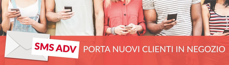 SMS ADV: porta nuovi clienti in negozio