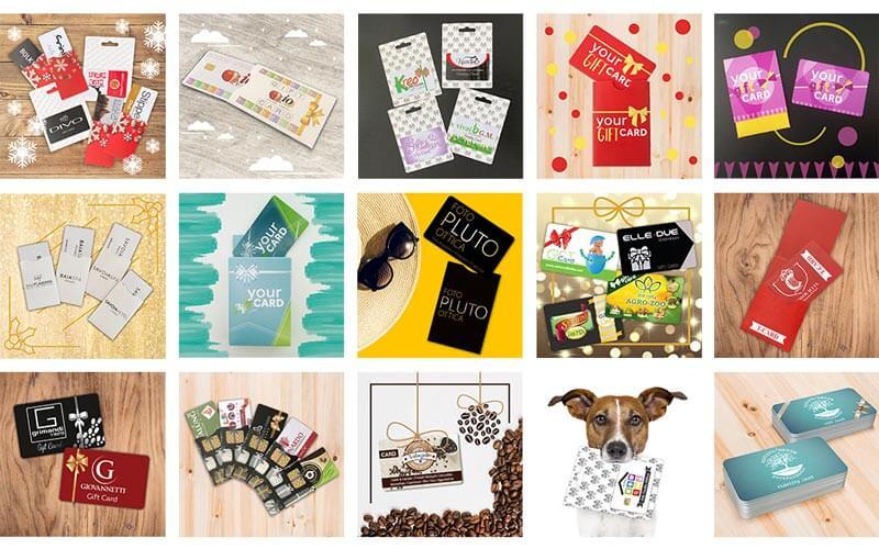 Soluzioni gift card e packaging