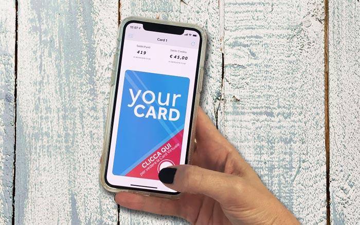 fidelizzazione con card virtuale