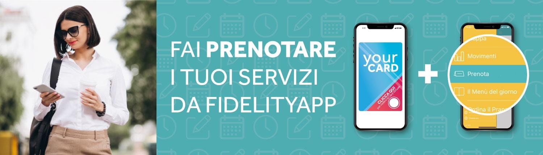 Ordini e prenotazioni con FidelityApp