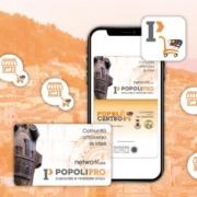 Centro Commerciale Naturale di Popoli con Card in PVC e Fidelity Card virtuale su App