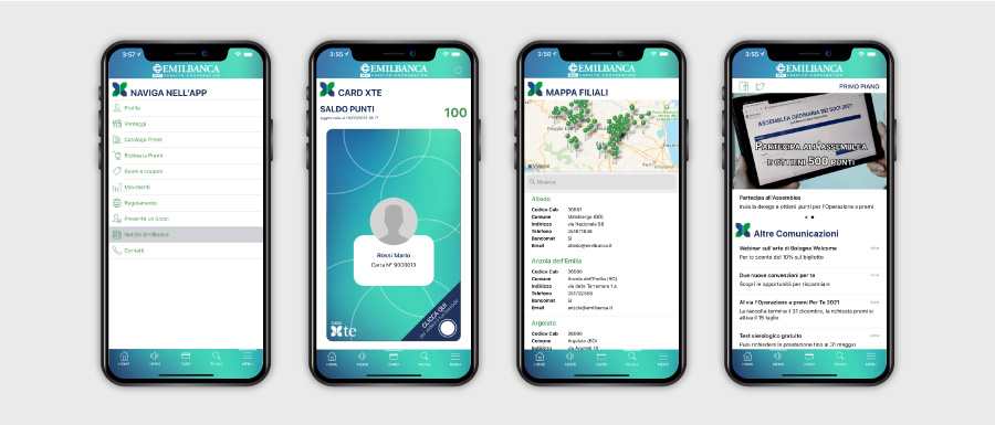 Raccolta punti Fidelity App Xte Emil Banca