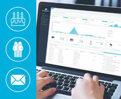 Software di gestione dei clienti con Fidelity Card