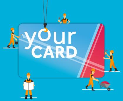 Realizzazione Grafica Card in PVC