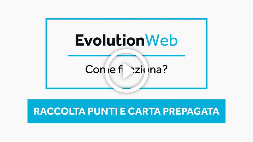 Videotutorial Evolution Web Raccolta punti e Carta prepagata