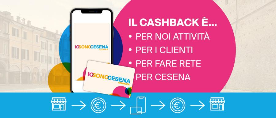 Cashback locale IOSONOCESENA